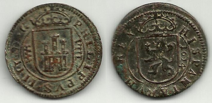 VIII maravedís del Ingenio de Segovia [intentemos reunir todas las fechas] FIV%20-40550