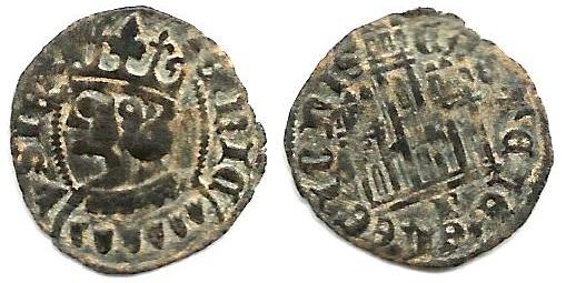 Dinero coronado o cornado de Enrique II. Burgos M%20-%203209